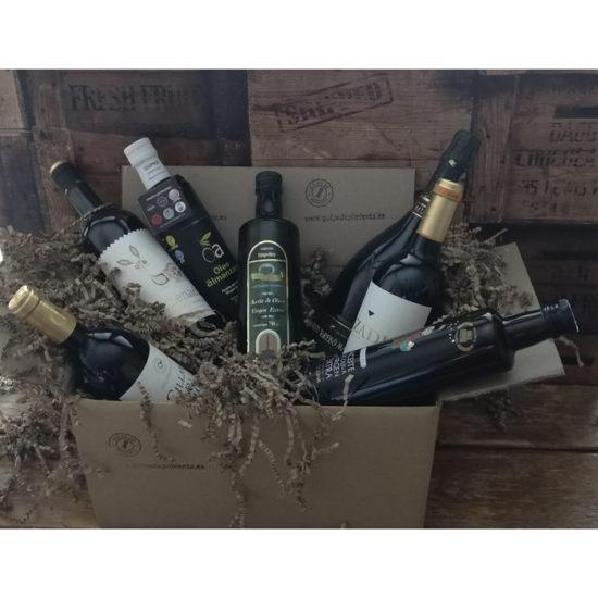 Pack regalo de vino y aove
